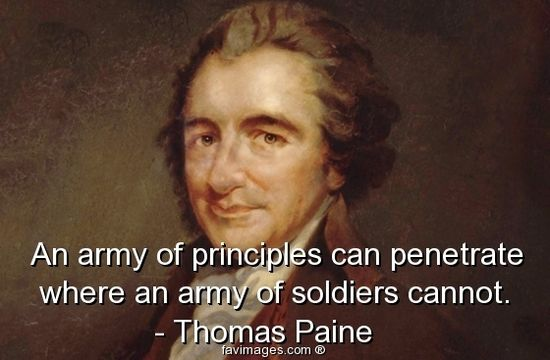 inspiration and motivation of pro revolutionaries in common sense by thomas paine Published in 1776, common sense challenged the authority of the british  government and the royal monarchy the plain language that paine used spoke  to the.