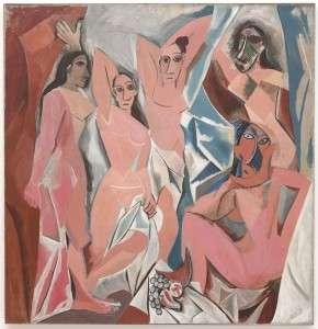 Avignon, Picasso nudes