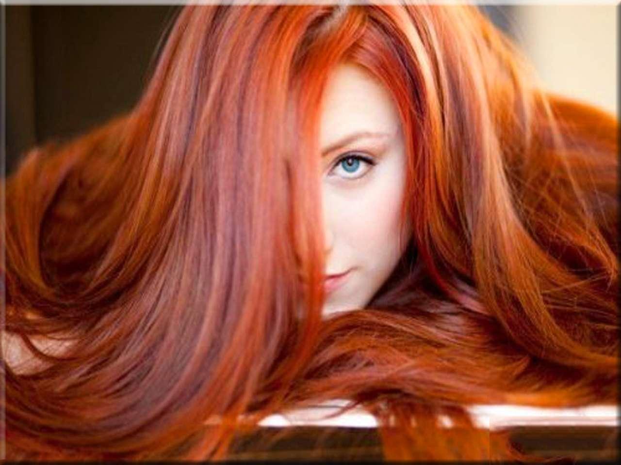 Рыжеволосые девушки вид сзади 17 фотография