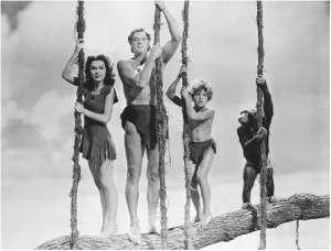 Tarzan, Jane & Cheetah