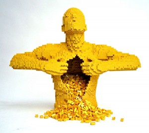 yellow lego man
