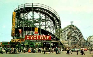 The Cyclone, 1950s