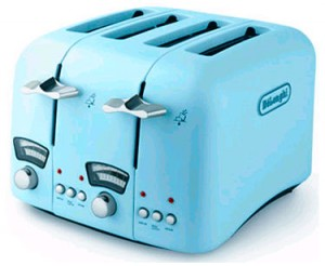 turquoise toaster