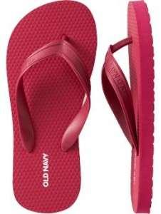 Boys Classic Flip-Flops - Crimson Red